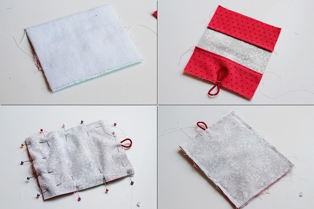 Cách làm ví handmade nhỏ nhỏ xinh xinh bằng vải vụn
