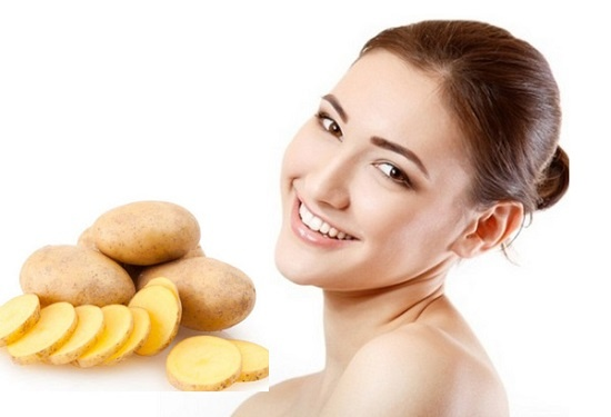 3 mặt nạ dưỡng trắng da, trị mụn cực hiệu quả từ khoai tây