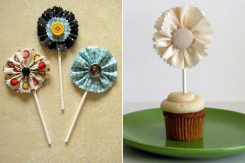 Cách làm hoa vải handmade đơn giản cực đẹp trang trí phòng
