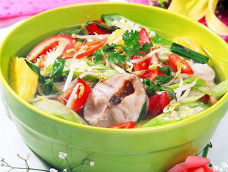 Cách nấu canh chua cá trê cực ngon tại nhà
