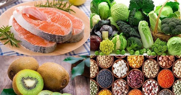 Những loại thực phẩm giúp phòng chống tai biến mạch máu não
